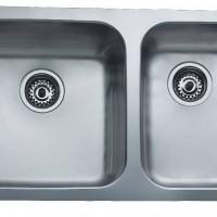 Chậu rửa nhà bếp 2 hố lắp âm Teka – BE 2B 785