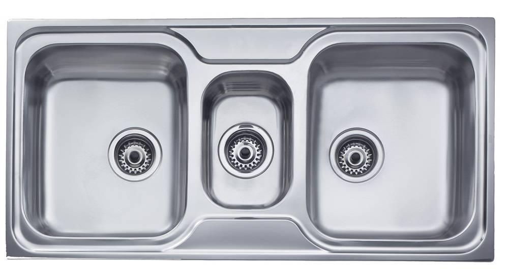 Chậu rửa nhà bếp 3 hố nhập khẩu Teka – Classic 21/2B