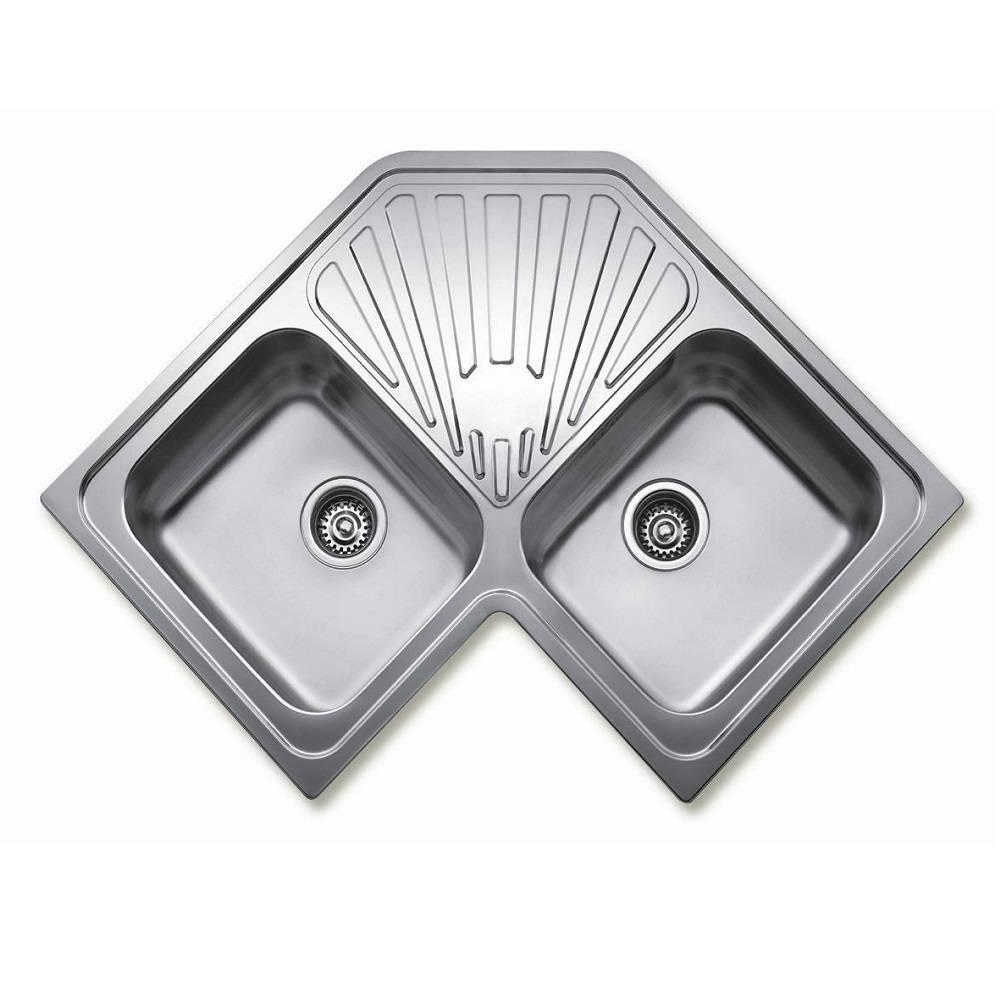 Chậu rửa góc Teka - Angular sink 2B