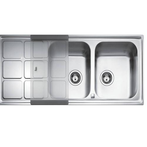 Chậu rửa nhà bếp Teka - Cuadro 2B1D