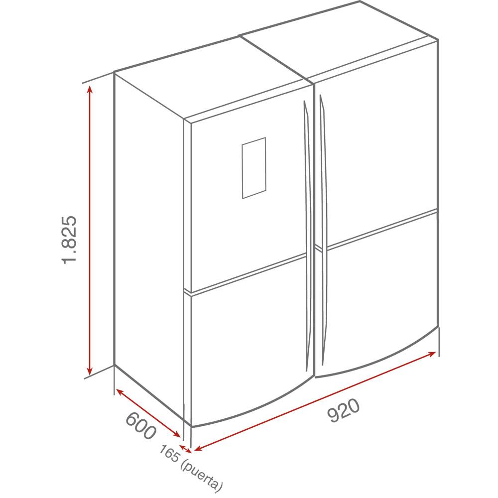 Lắp đặt tủ lạnh 4 cánh nhập khẩu Teka NFE 900 X