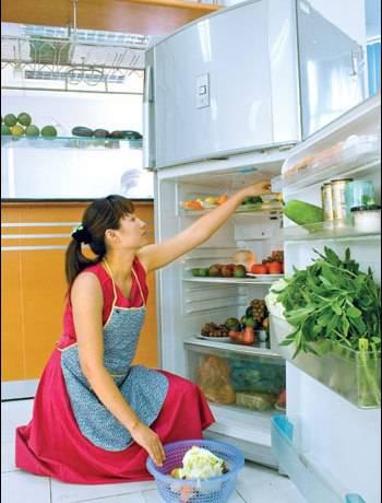 Để riêng thực phẩm sống - chín khi cho vào tủ lạnh