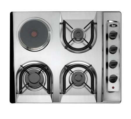 Sản phẩm bếp ga inox nhập khẩu Teka – EM/60.2 3G1P