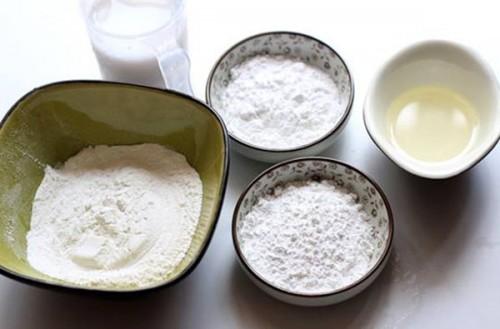 Nguyên liệu bột bánh dẻo