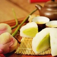 Bánh dẻo Trung Thu nhân đậu xanh