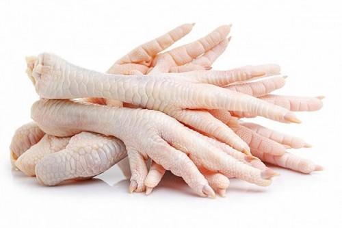 Chuẩn bị nguyên liệu chân gà