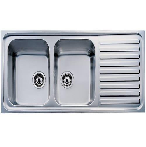 Kích thước chậu rửa bát đĩa nhà bếp Teka - Classic 2B1D