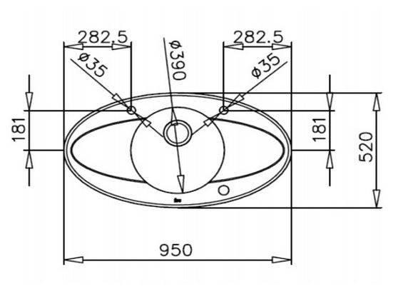 Lưu ý về kích thước lắp đặt chậu rửa bát inox Teka ISINK 95 DX