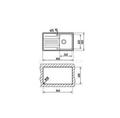 Lưu ý về kích thước lắp đặt chậu rửa bát inox Teka STAGE 45 1B 1D