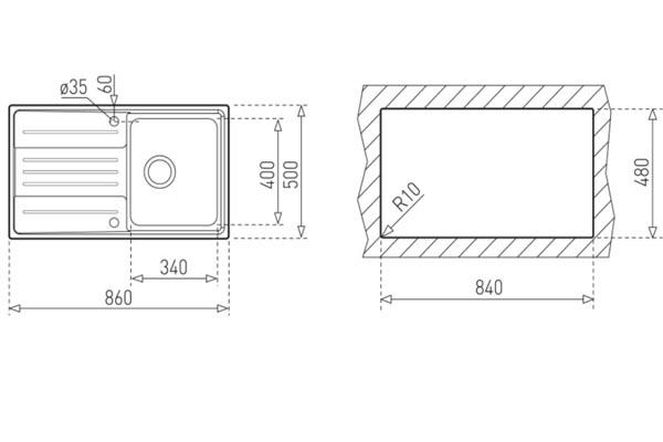 Lắp đặt chậu Rửa Bát Teka Stage 45 1B 1D S/STEEL