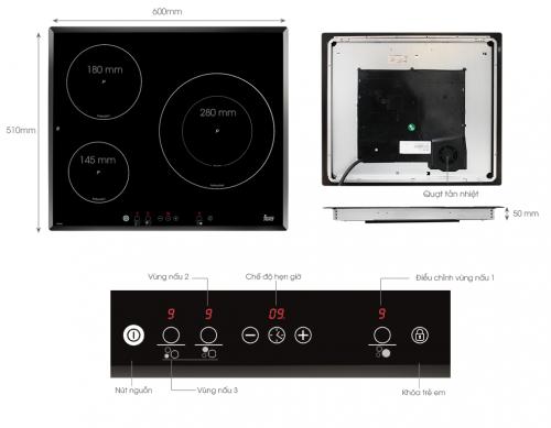 Chi tiết sản phẩm bếp từ Teka IR 6031