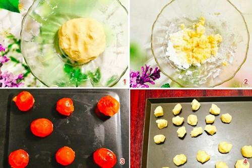Các bước làm bánh Trung Thu ngàn lớp Đài Loan