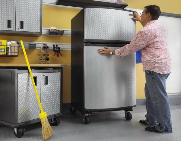 Khắc phục sự cố tủ lạnh bị nghiêng