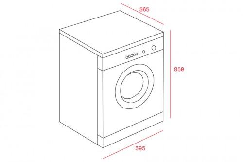 Máy giặt có sấy Teka 1610 WD EXP