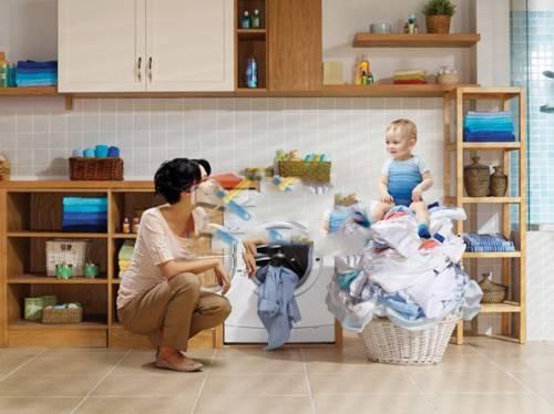 Tiếng kêu to của máy giặt do bạn đã để quá nhiều đồ giặt vào máy giặt