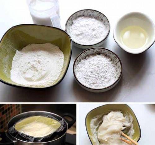 Nguyên liệu làm bánh dẻo
