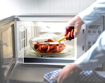 Làm món nướng bằng lò vi sóng