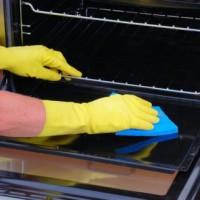 Phương pháp vệ sinh lò nướng hiệu quả, Vệ sinh lò nướng bằng nguyên liệu tự nhiên