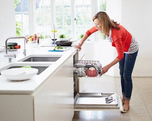 Sử dụng máy rửa bát hiệu quả
