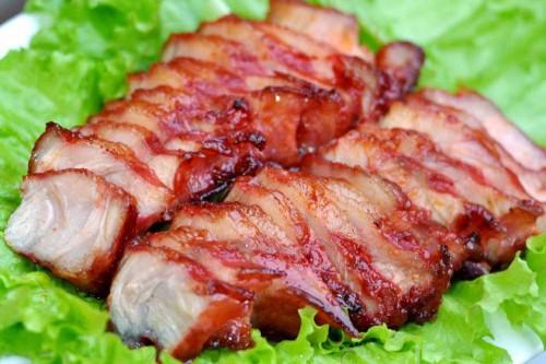 Thịt ba chỉ nướng ngon