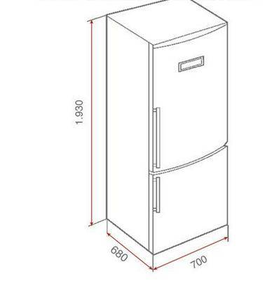 Lưu ý về kích thước lắp đặt tủ lạnh Teka NFE 1420