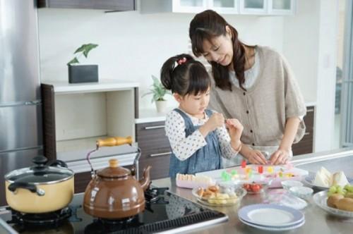 Bếp từ an toàn cho trẻ