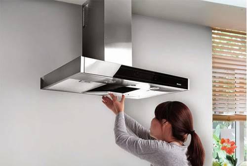 Cách làm sạch máy hút mùi nhà bếp nhanh chóng